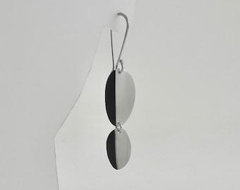 Sterling Double Fold Earrings - E3031