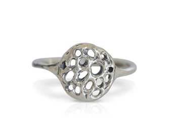 Cholla Sun Ring| Sterling Silver | Statement Ring