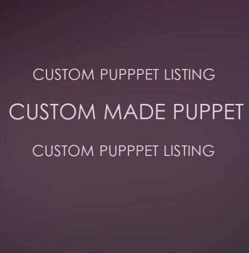 Private listing custom puppet for Timothy