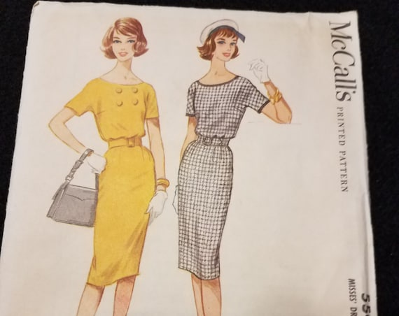 McCalls/Pattern/5503/Size 12/Misses/Dress/Easy