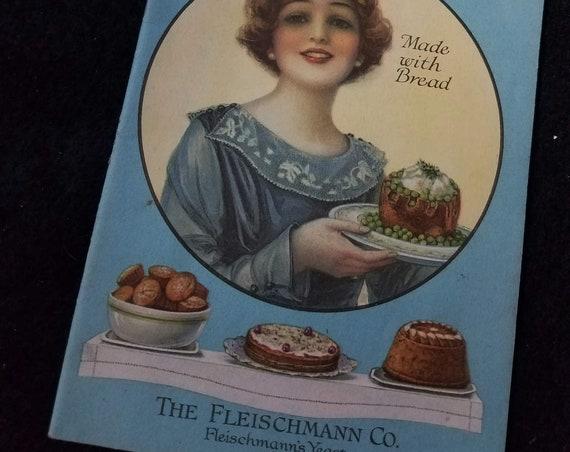 1919 Fleishchmann's Yeast Cookbooklet
