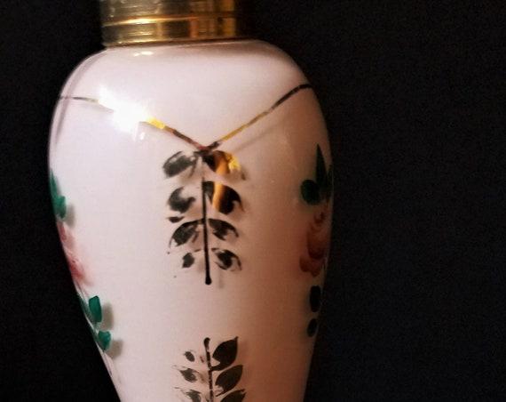 Antique Pink Perfume Bottle