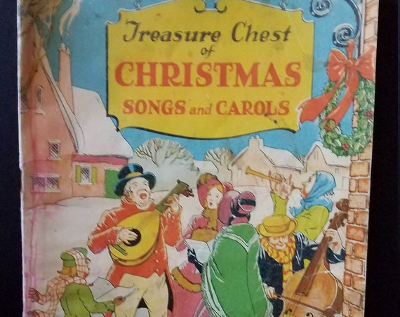 1936 Treasure Chest of Christmas Songs Booklet
