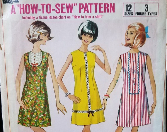 1966 Simplicity How to Sew Pattern