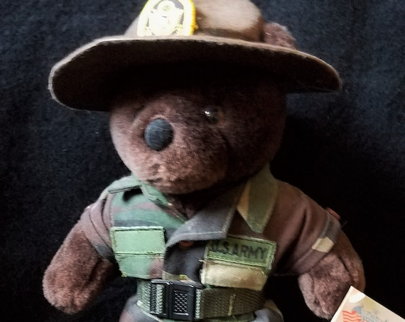 80s US Army Drill Instructor Bear