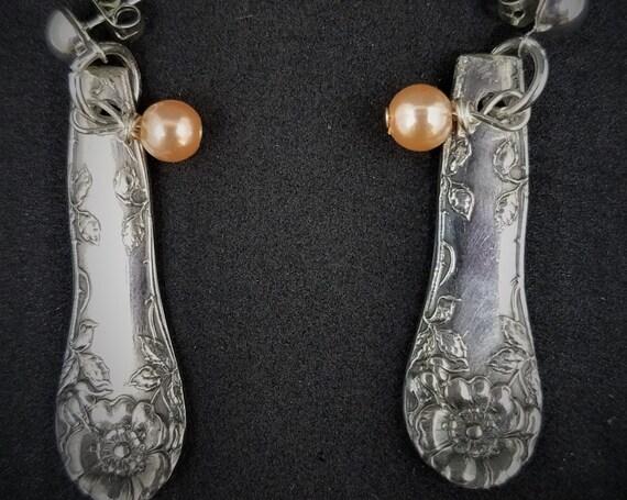 Recycled Silverware Earrings