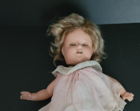 1930s Composition Shirley Temple Doll