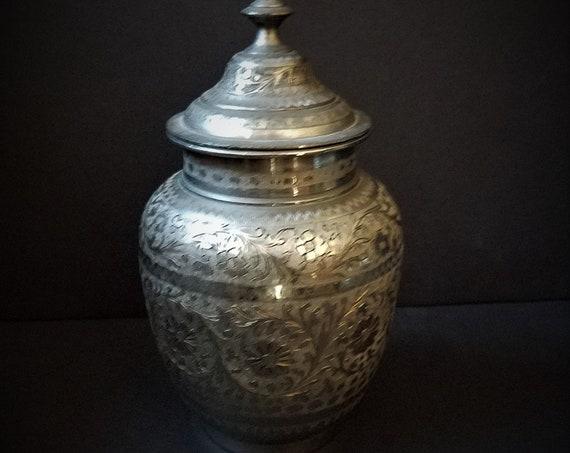 Brass Indian Urn