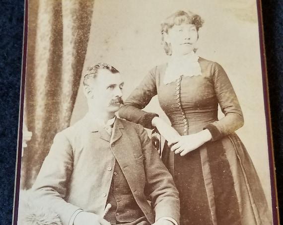 Late 1800s Fox & Symons Photo