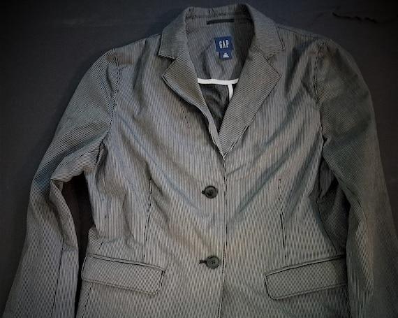GAP Pinstripe Blazer size 14