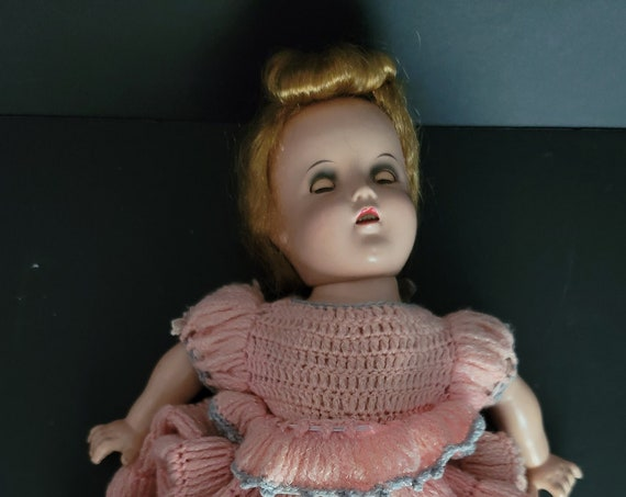 """1930s 18"""" Composition Shirley Temple Doll"""