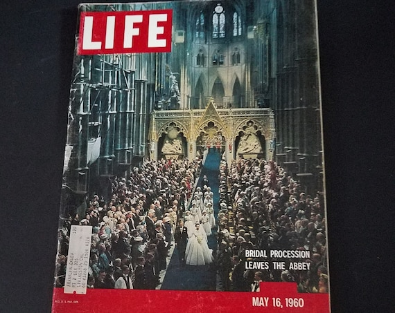May 1960 Life Magazine Princess Margaret Wedding