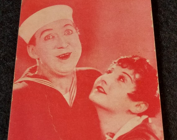 Lobby Card of Billy Dooley & Vera Steadman c. 1925