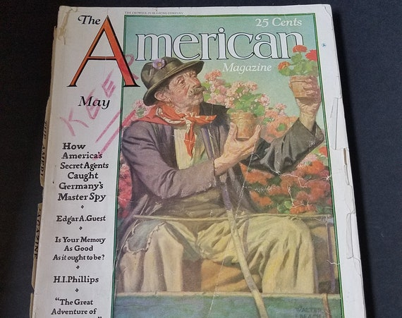 The American Magazine May 1929