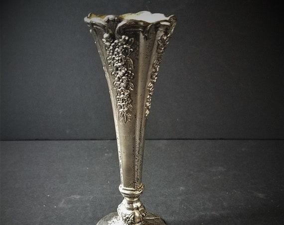 Vintage Plated Posy Vase