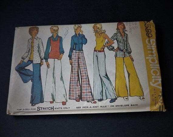 1973 Simplicity 5589 Women