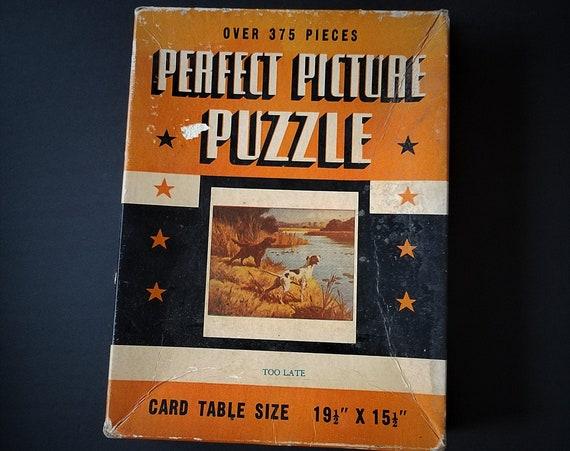 Antique Perfect Picture Puzzle