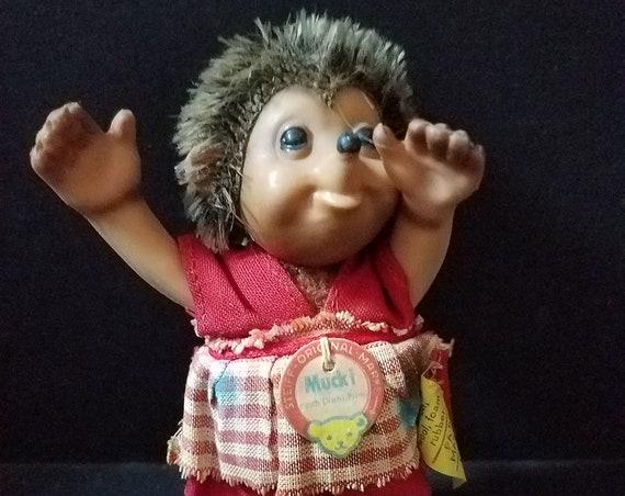 Steiff Muckie Girl Hedgehog
