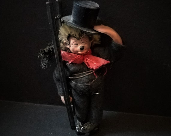 Steiff Rare Mucki Chimney Sweep Doll