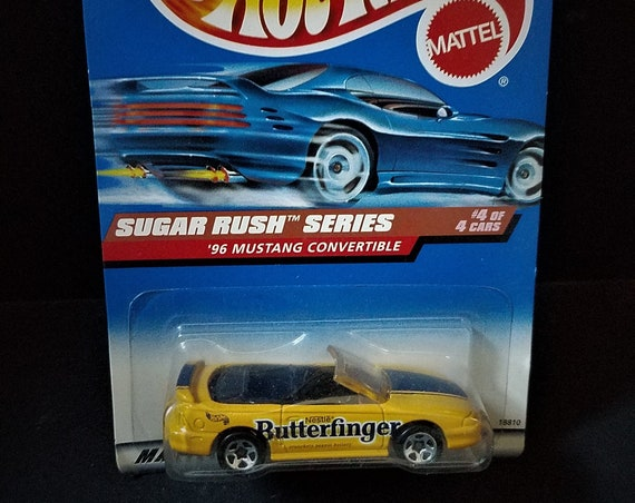Hot Wheels Butterfinger Sugar Rush Series Mustang