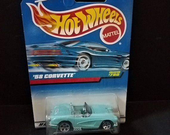 97 Hot Wheels 1958 Corvette #780