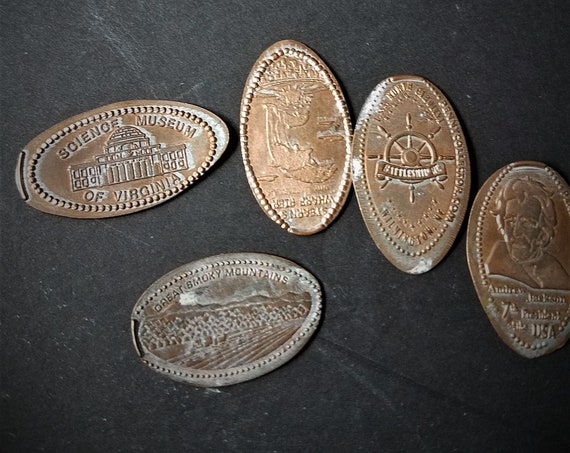 Elongated Souvenir Pennies