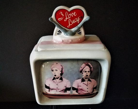 I Love Lucy Television Music Box