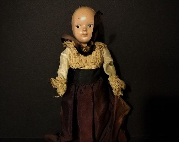 1940s Hard Plastic Doll