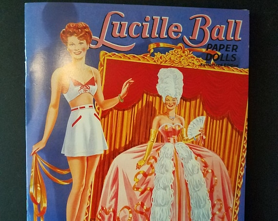 Lucille Ball Paper Dolls