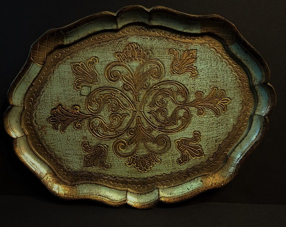 Florentine Tray Made in Italy