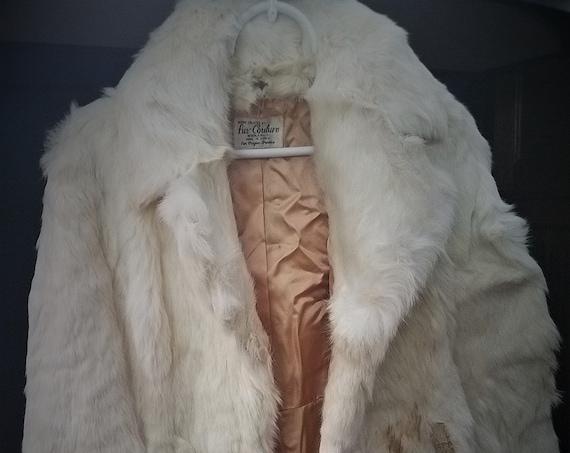 Vintage Fur Couture Beverly Hills Rabbit Jacket