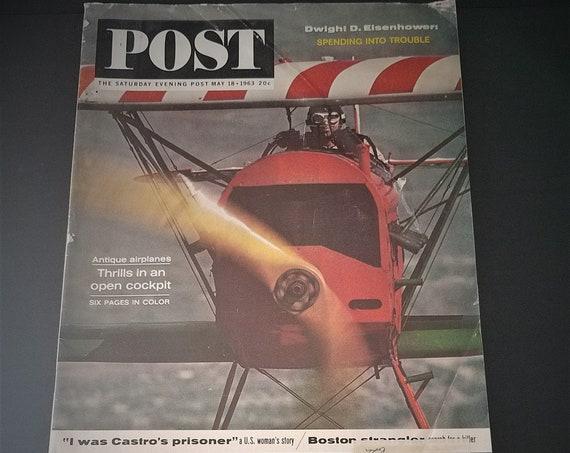 May 1963 Saturday Evening Post Magazine