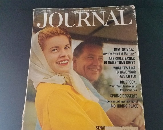 Ladies Home Journal May 1962 Kim Novak