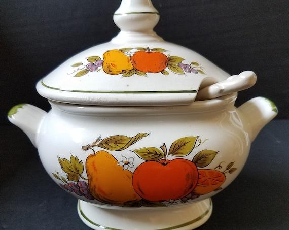 Small Ceramic Tureen or Gravy Server