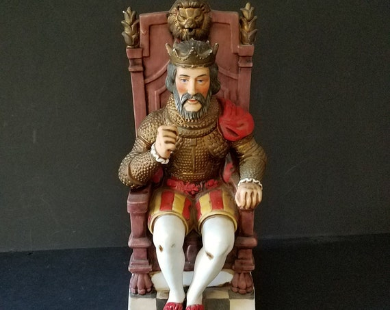King Arthur McCormick Bourbon Decanter