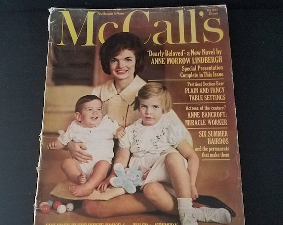 May 1962 McCall's Magazine Jackie Kennedy
