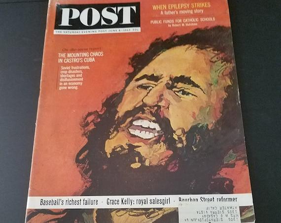 June 63 Saturday Evening Post Castro