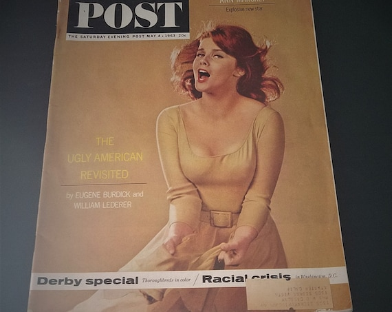 May 1963 Saturday Evening Post Ann Margaret