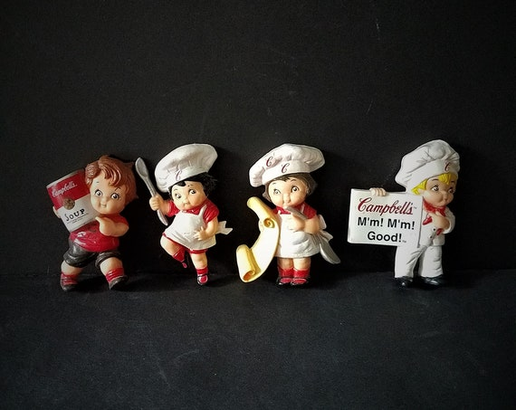 1995 Campbells Soup Kids Magnets