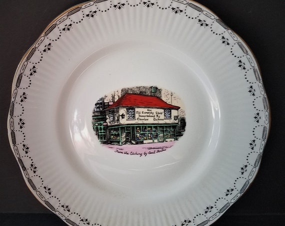 Rosina Dickens Old Curiosity Shop Plate