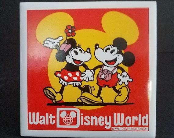 Vintage Disney World Tile