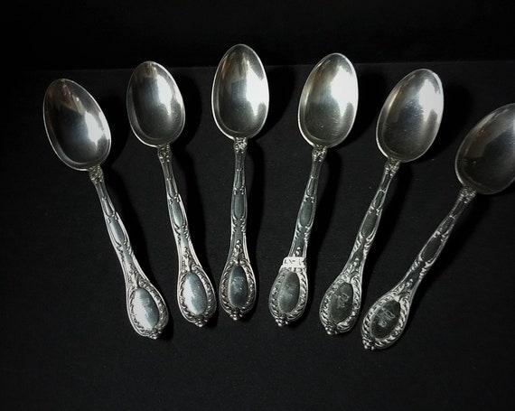 Antique Gorham Sterling Silver Teaspoons