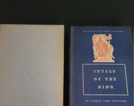 1939 Heritage Book Idylls of the King