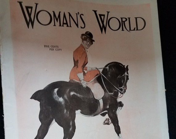 1912 Woman's World Magazine