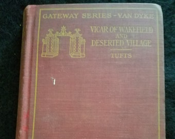 1907 Gateway Series Oliver Goldsmith edited by James Tufts