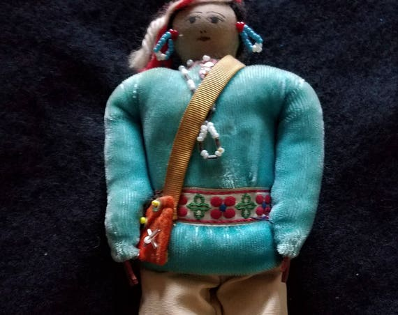 1960s Navajo Collectible Souvenir Doll