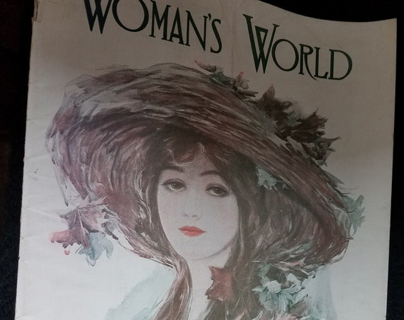 1911 Woman's World Magazine