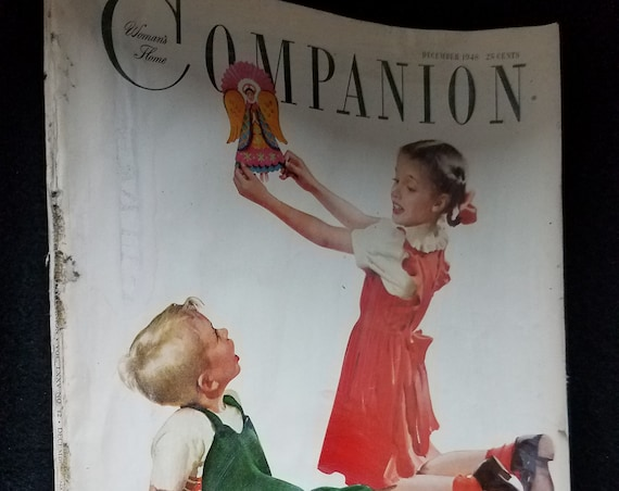 Dec 1948 Woman's Home Companion Magazine