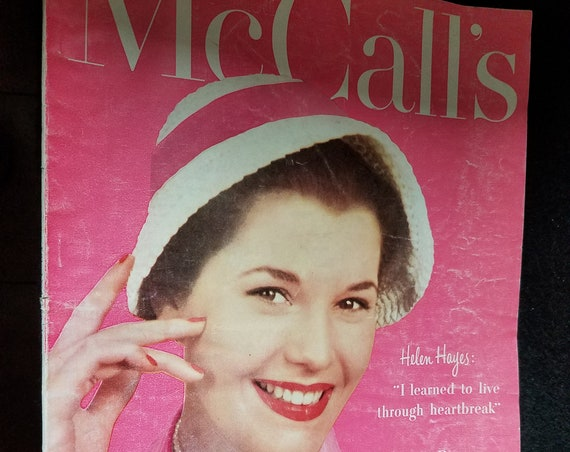 1952 McCalls Magazine with Helen Hayes