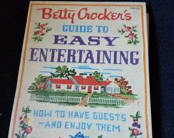 1959 Betty Crocker's Guide to Easy Entertaining 1st Edition/Printing